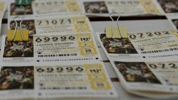 Find numbers for the Christmas lottery