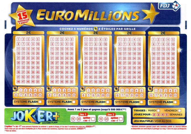 Призы euromillions | шансы на победу в евромиллионы