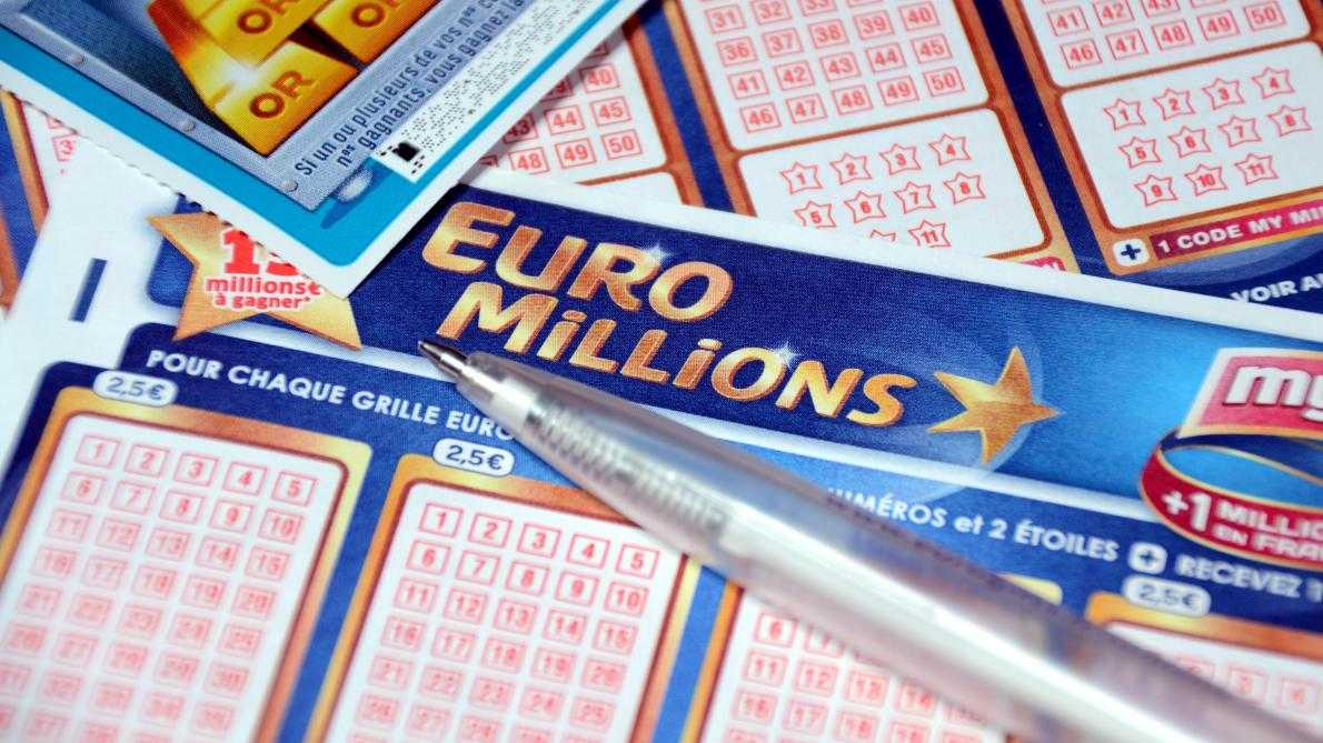 Euromillions - trang web chính thức công bố siêu rút tiền tiếp theo