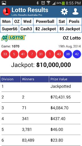 Oz Lotto australsk lotteri - Hvordan spille fra Russland