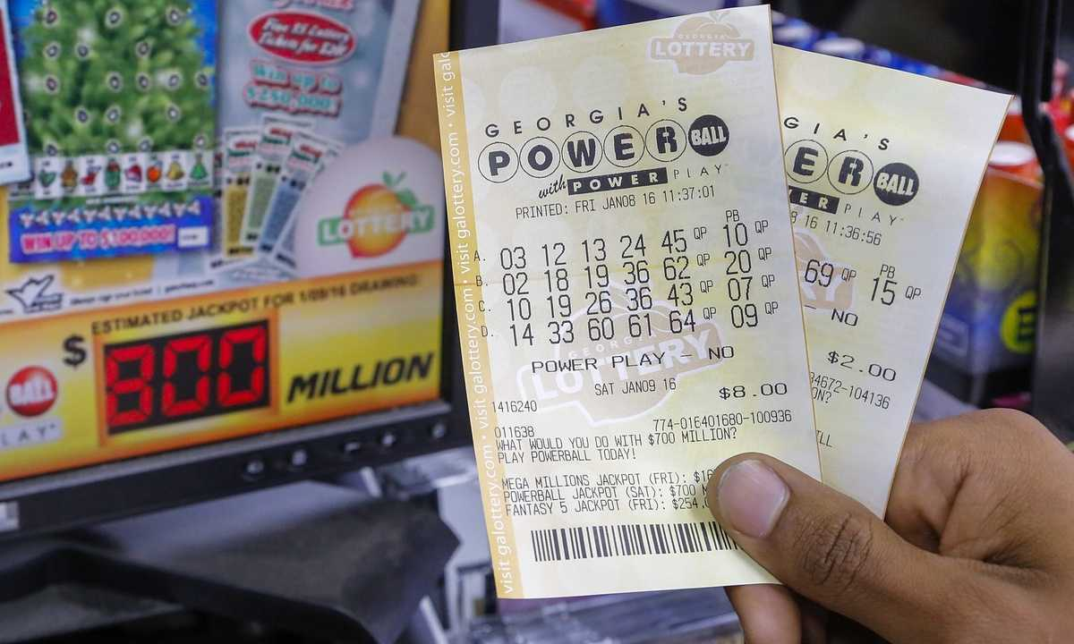 Powerball lotteri officiell webbplats