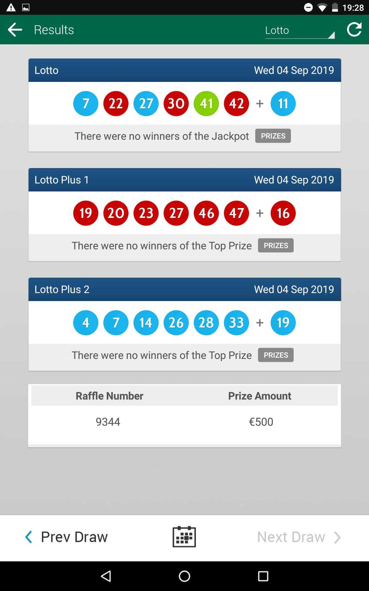 European lotteries - timelottery