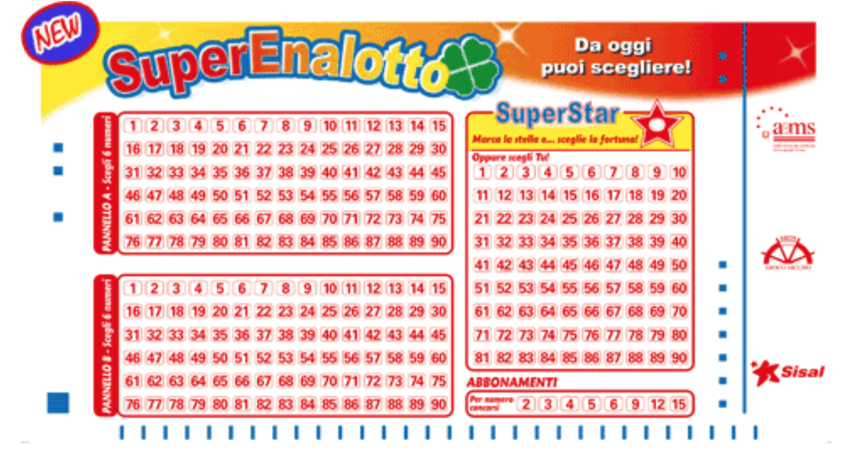 Italiensk superenalottolotteri | italiensk lotteri | spill online