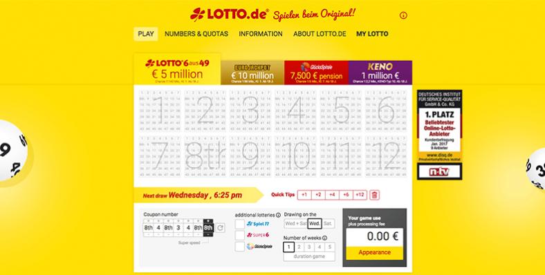 Játsszon Lotto Austria-t online a lottoland.com oldalon