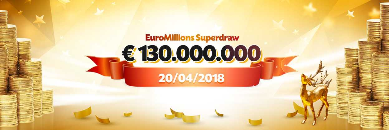 Euromillions superdraw set to take place in june