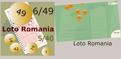 Romania lotto 6din49 charts