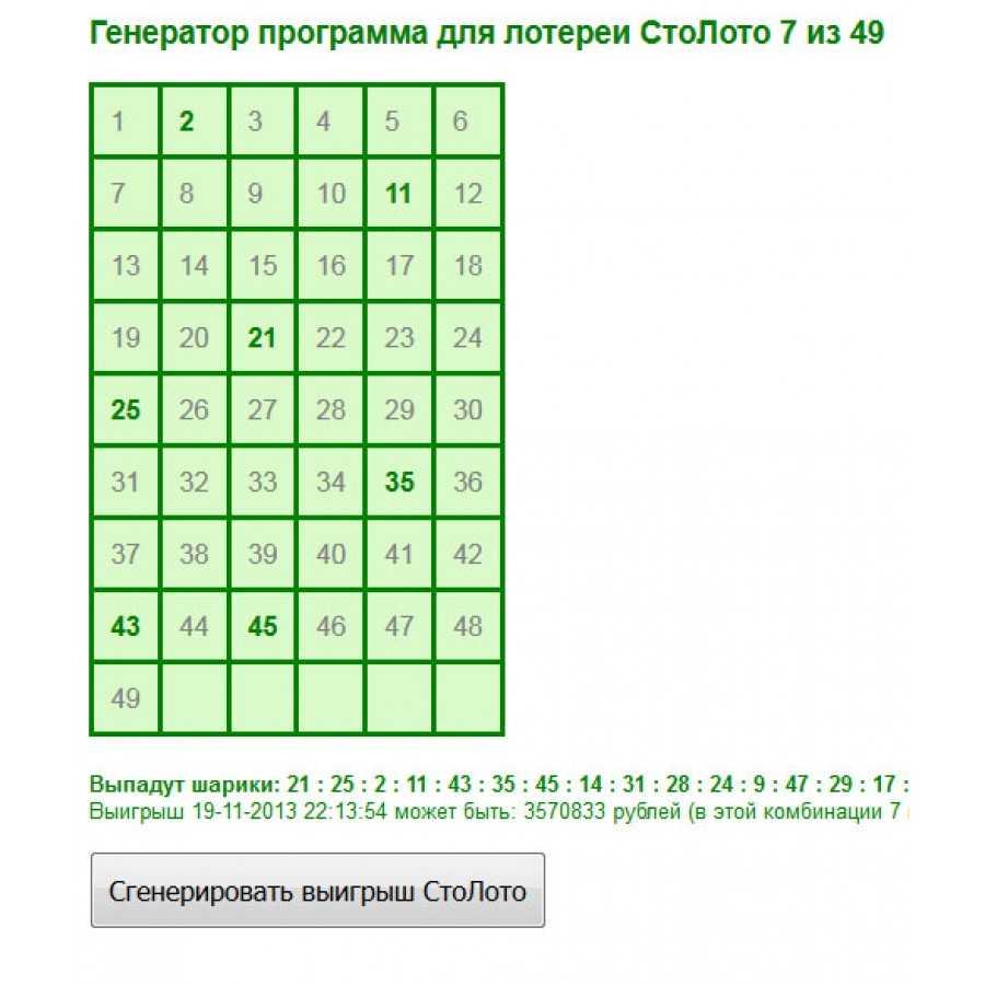 Statistiques et fréquence des nombres | vikinglotto