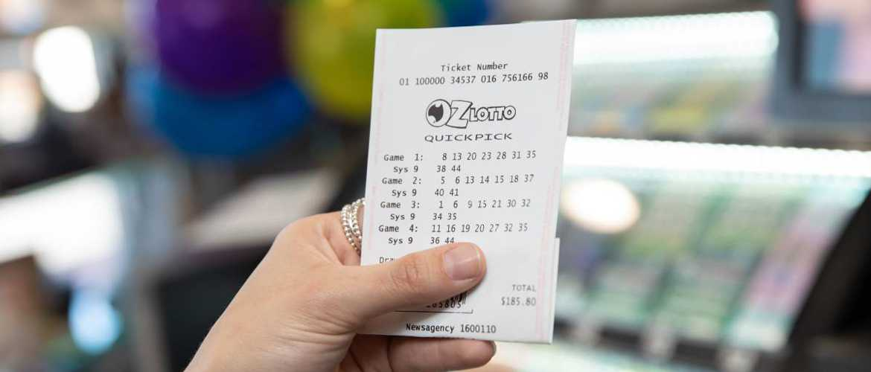 Australien Montag Lotto