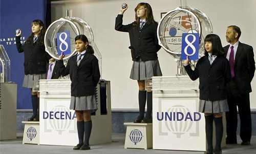 jednou loterie ve španělsku