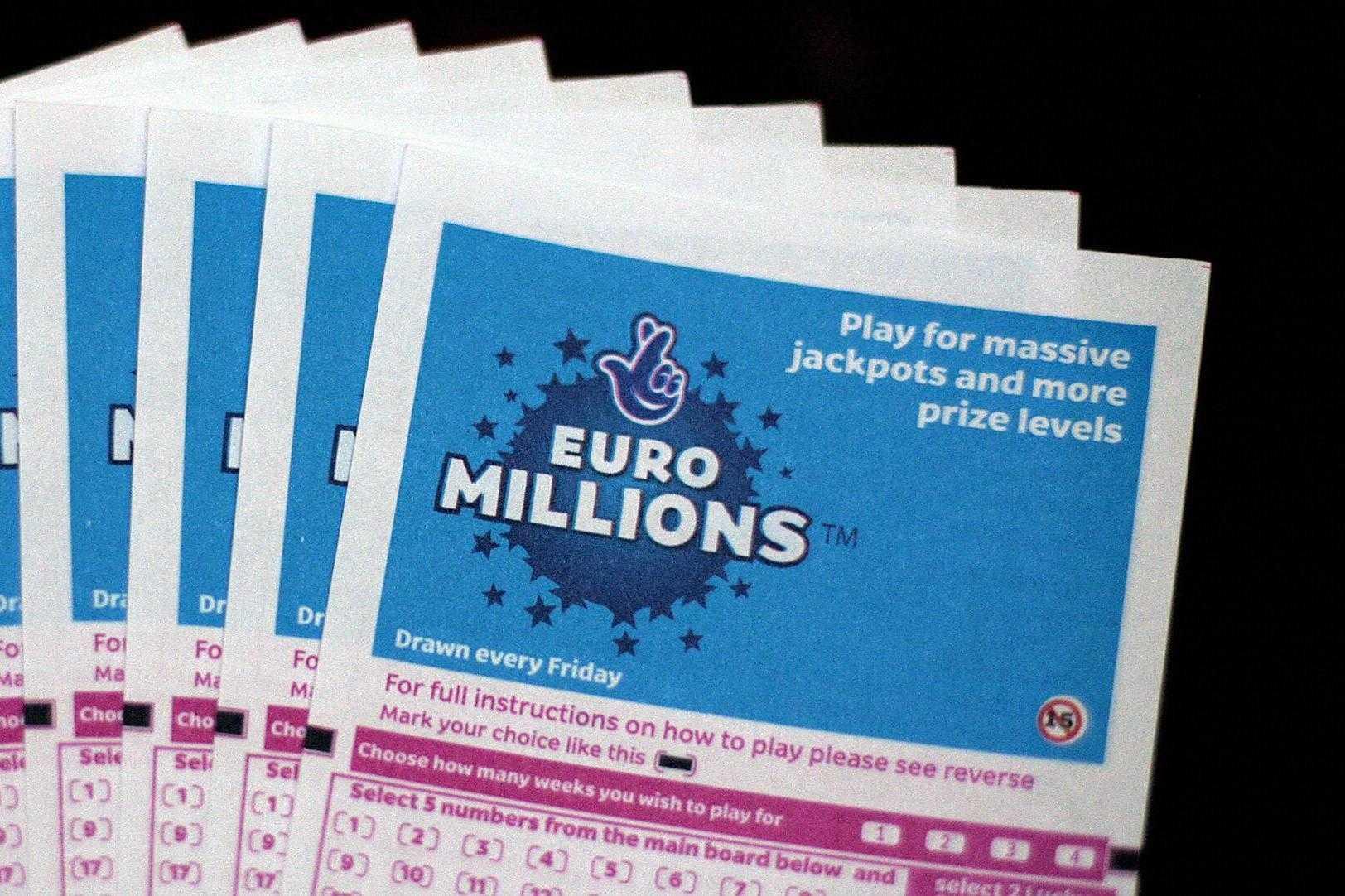 Euromillions superdraws