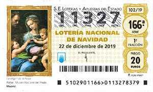 Karácsonyi lottó:  Spanyol karácsonyi lottó