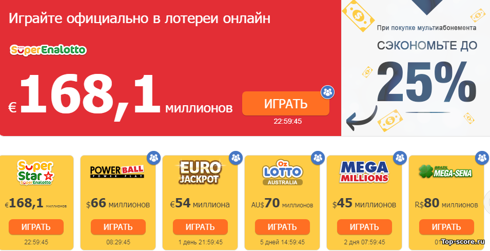 Euromillion, wie man ein Ticket aus Russland kauft und wo man einen Preis abholt