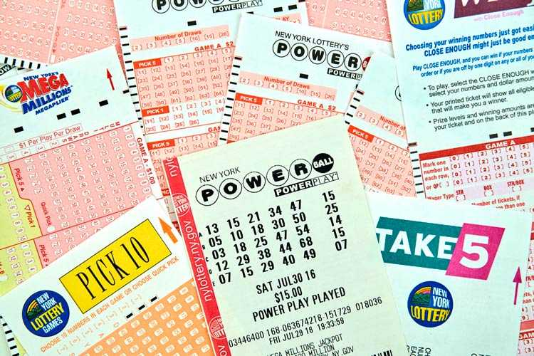 "Arkivera lotto ""powerball"" för 2018 år"