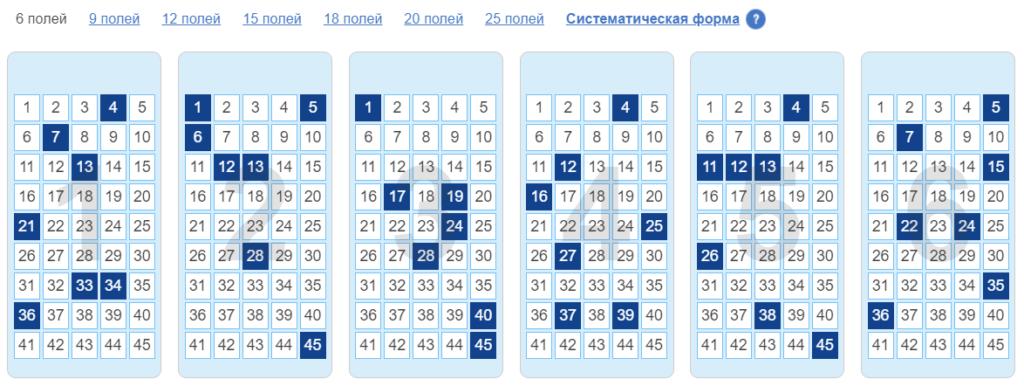 Литовская лотерея teleloto