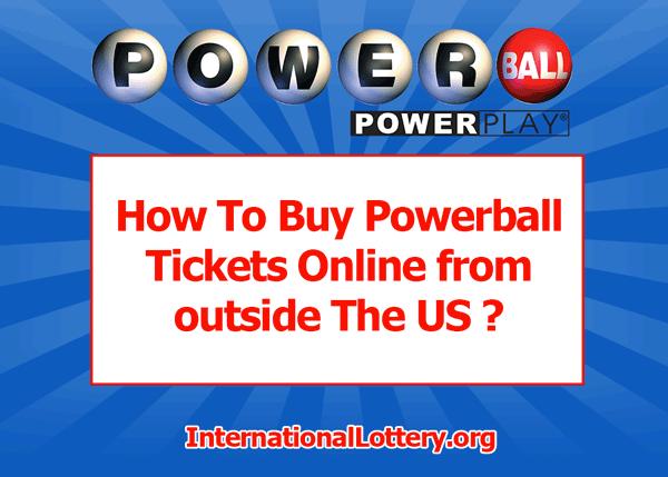Cómo jugar a la lotería de powerball estadounidense (en línea) En Rusia | lotería mundial