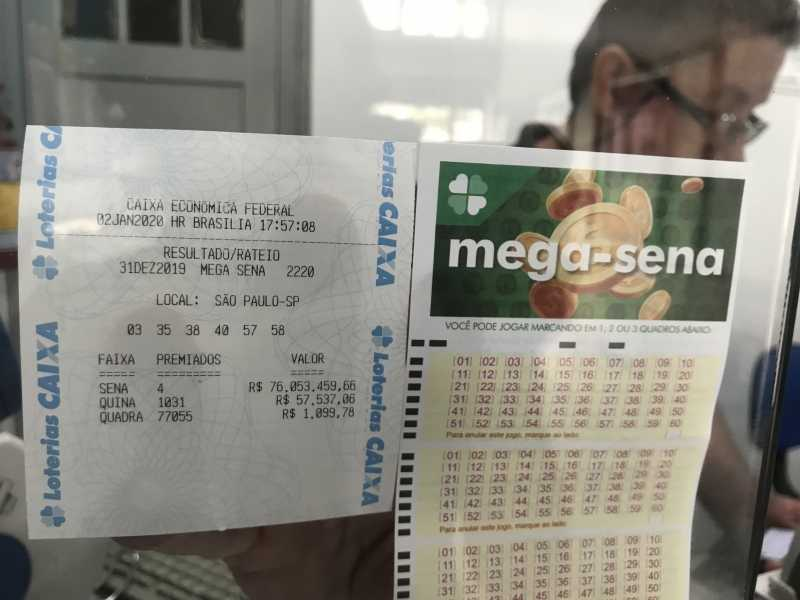 Brazil mega sena number analysis