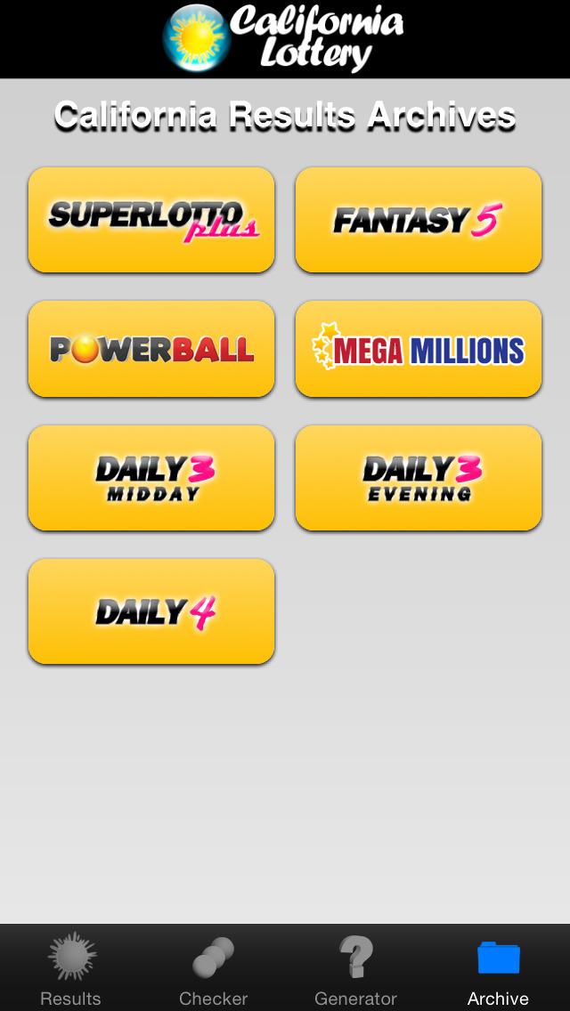 Superlotto plus - lotería de california
