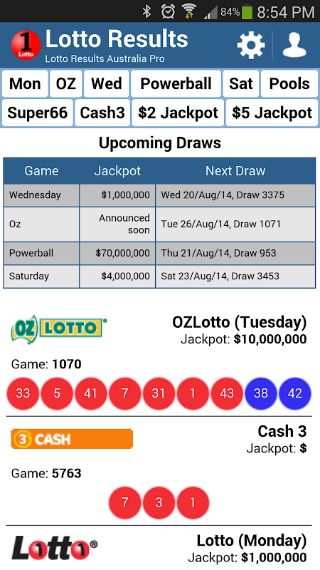Spill oz lotto online: prissammenligning på lotto.eu