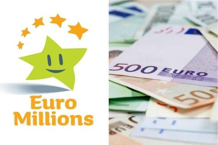 euromillions ลอตเตอรี่ออสเตรีย (5 из 50 + 2 ของ 12)