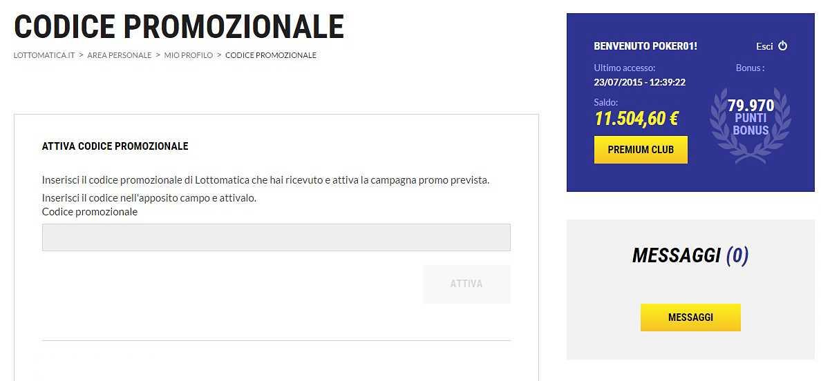 Bộ sưu tập tiền thắng xổ số Ý - lottomatica.it