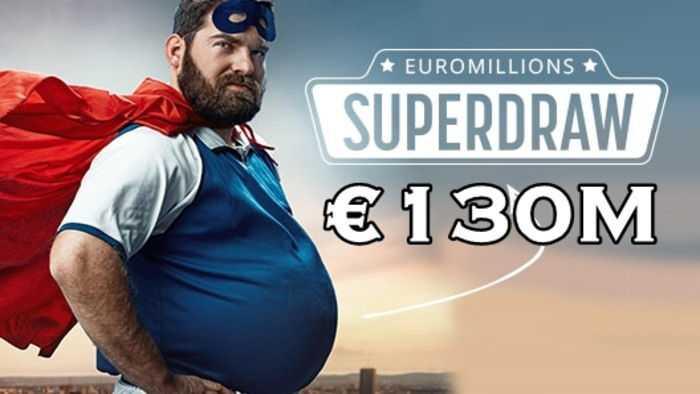 Super cagnotte euromillions - 130 millions d'euros