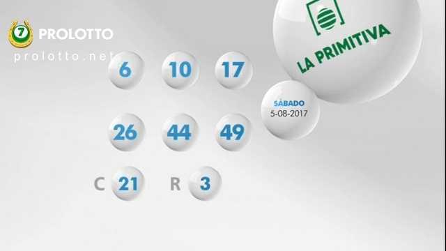Spanskt lotteri la primitiva (6 из 49 + 1 av 10)