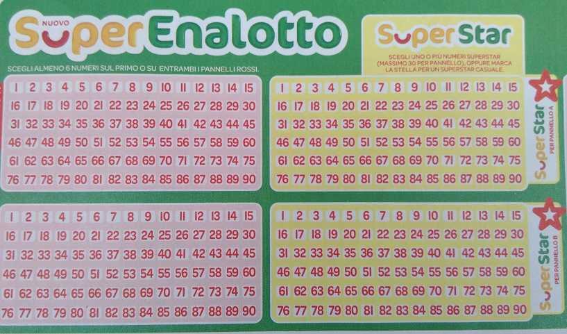 Superenalotto: hvordan spille, odds & mer