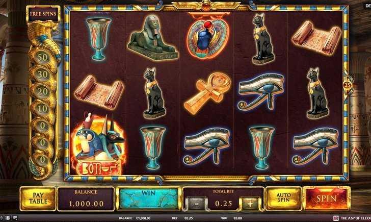 Slot machine egitto di diversi sviluppatori