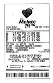 Mexico melate retro results › match