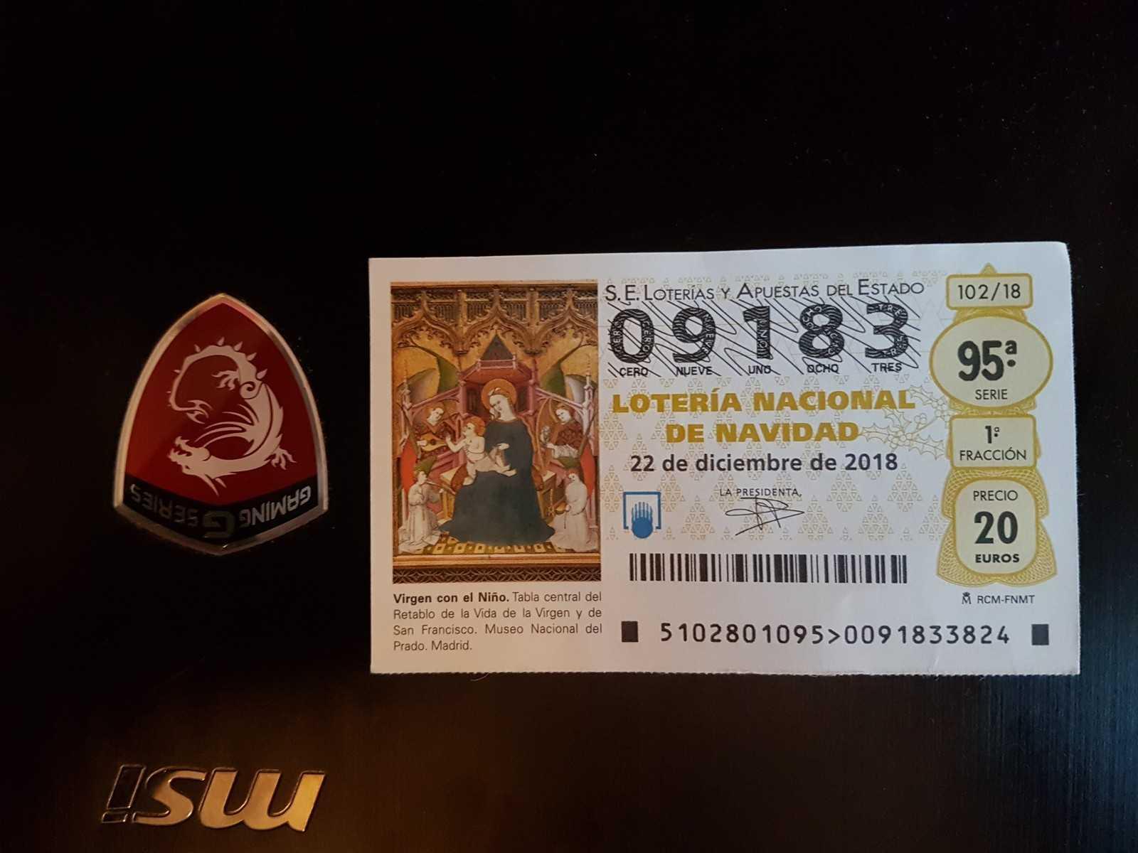 Španělská loterie