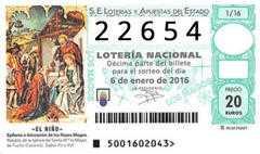 Encontre o número da loteria da criança 2020 - localize o seu décimo