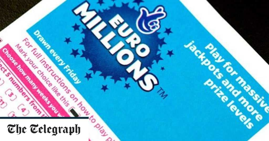 Euromillions results for 20th november 2015