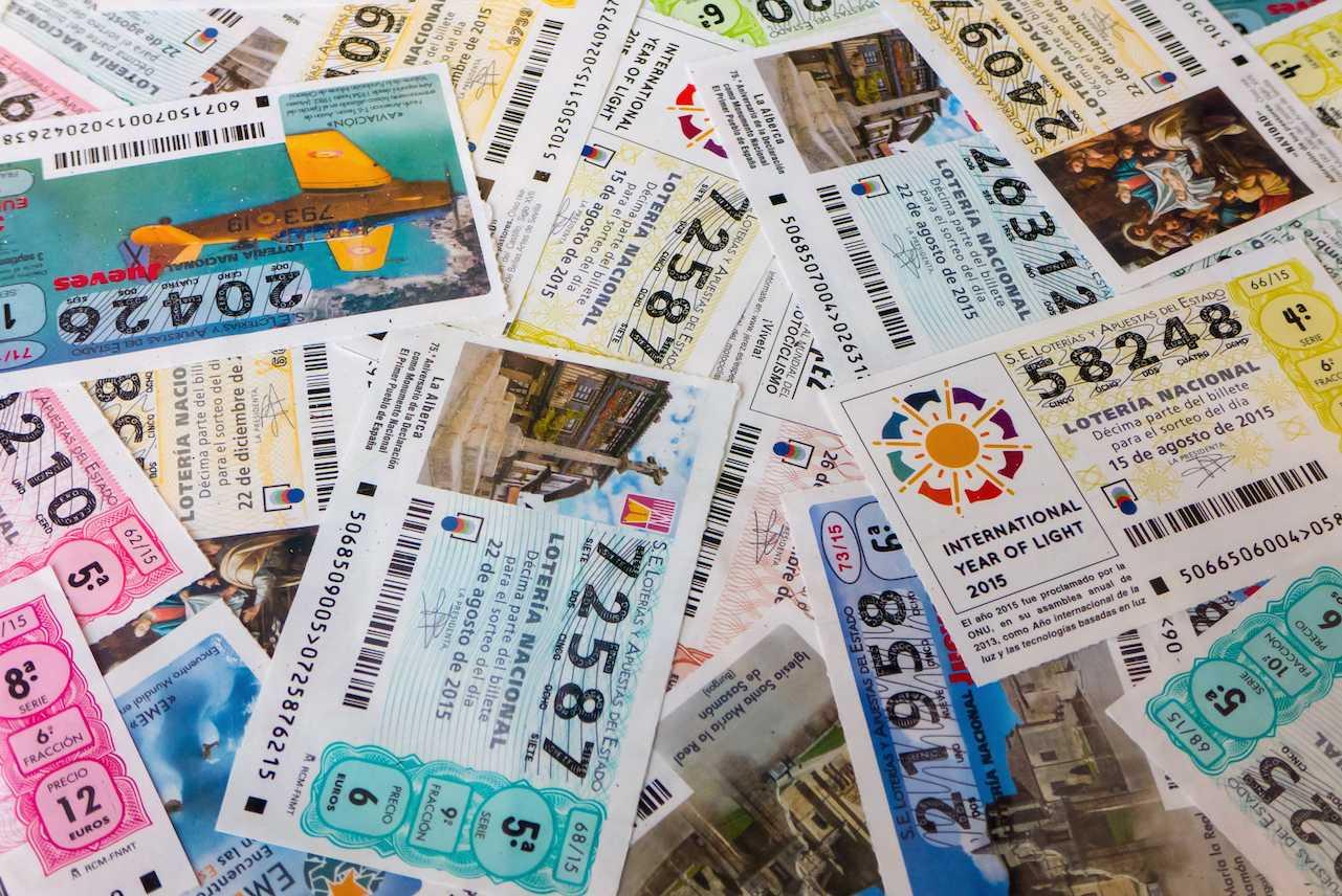 lottó nemzeti spanyol csekk jegy