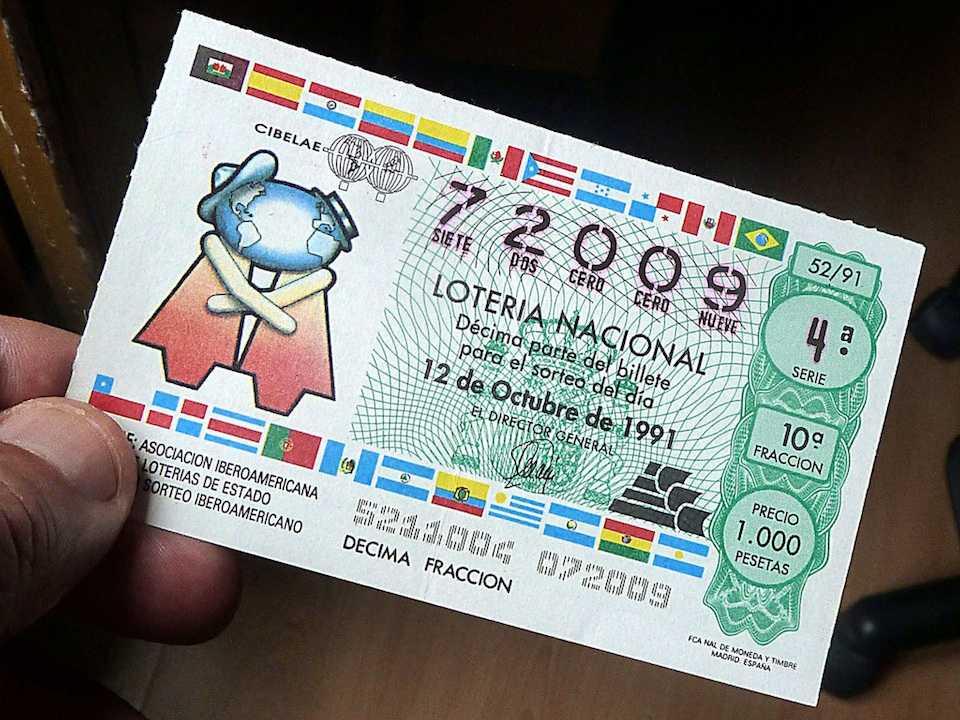 Spanyol lottó la primitiva (6 из 49 + 1 nak,-nek 10)
