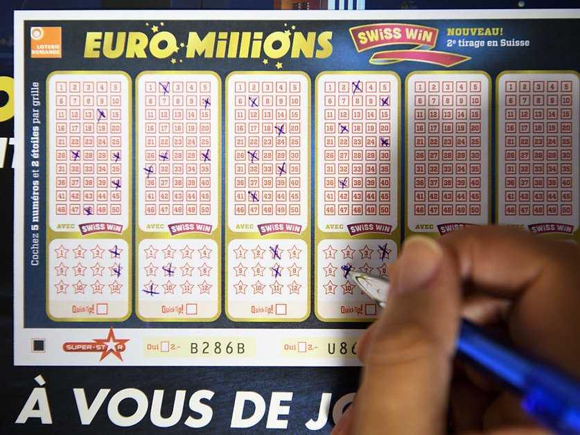Änderungen an Euromillionen
