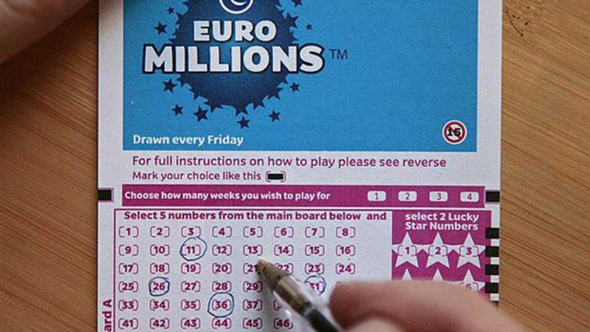 Giải thưởng Euromillions & phân phối quỹ giải thưởng