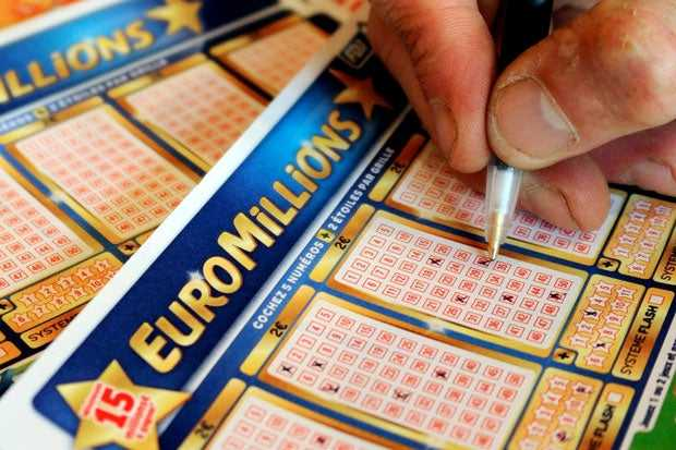 Euromillions prizes changing from 1st february 2020