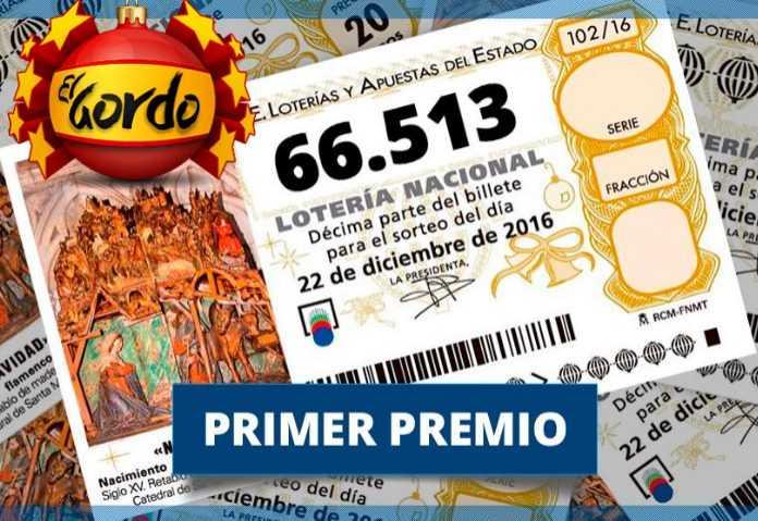 Loteria nacional - Spanyolország legrégebbi nemzeti lottója. € jackpot 84 millió !