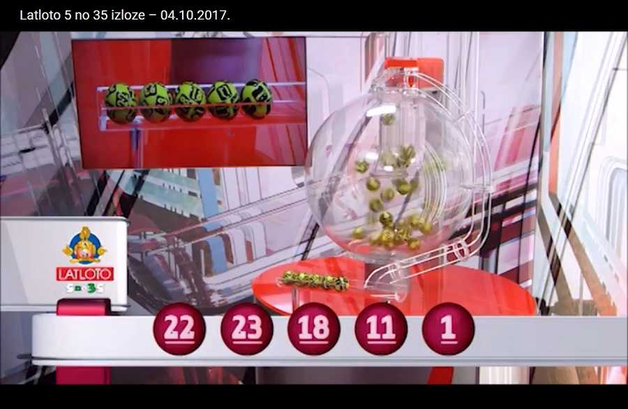 Loteria austríaca (6 do 45)