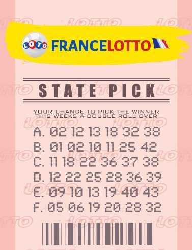 Francuska loteria Euromillions i moja loteria w wysokości miliona (5 из 50 + 2 z 12)