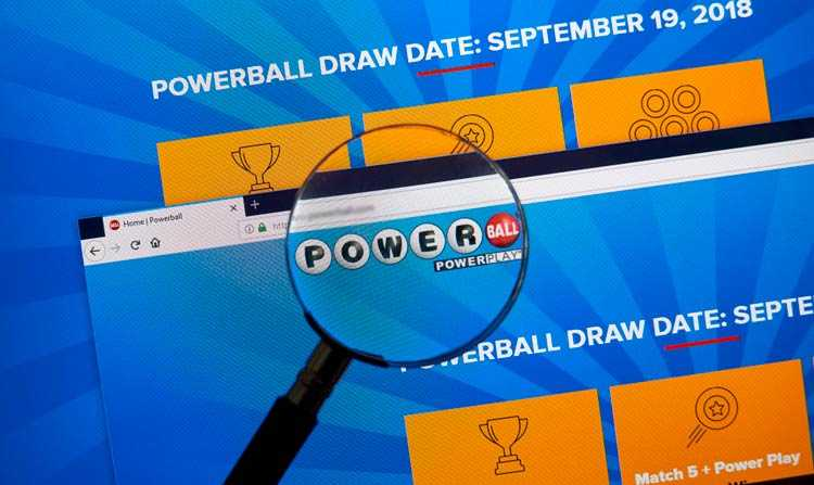 powerball lotteri officielle side