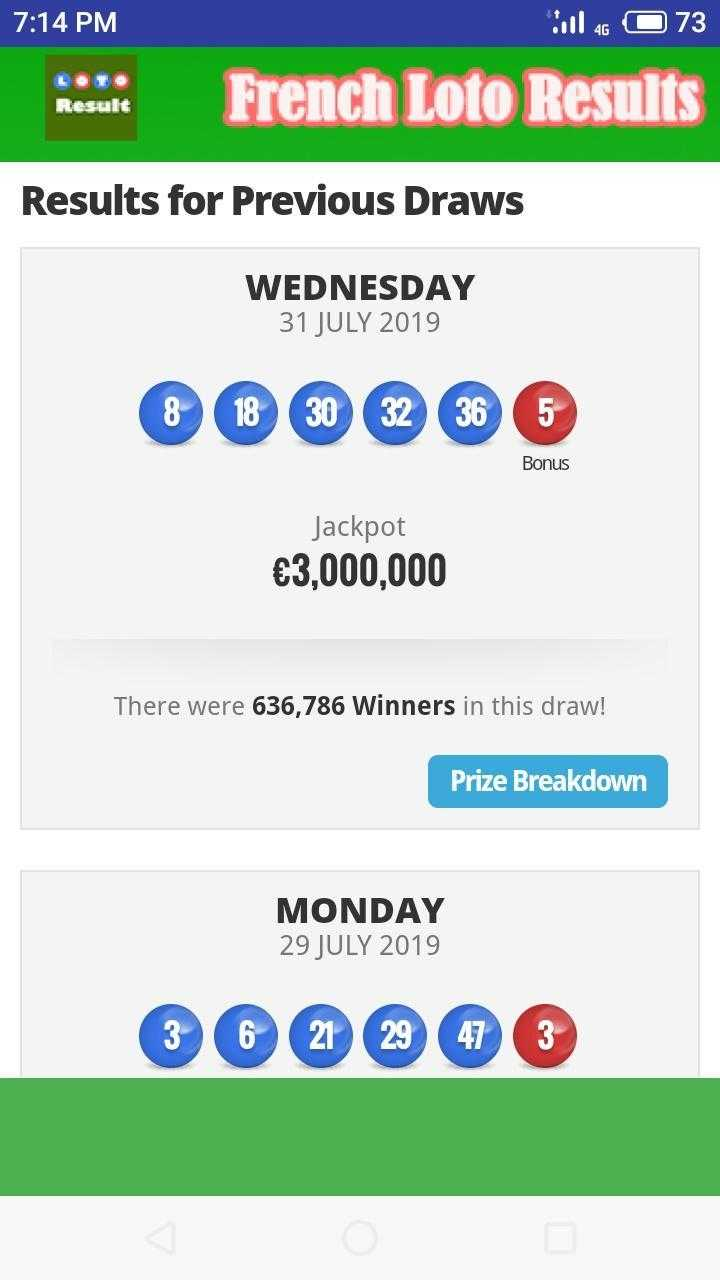 Französisches Loto | französische Lotterie | Frankreich Lotterie