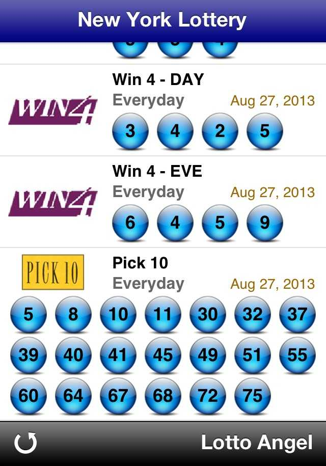 Numbers game | new york lottery