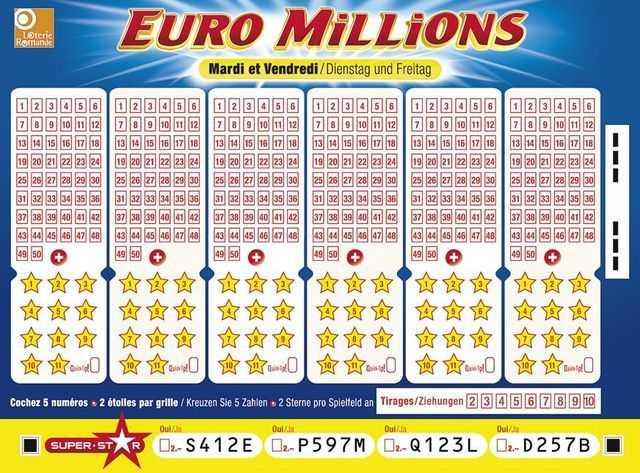 กฎลอตเตอรี EuroMillions